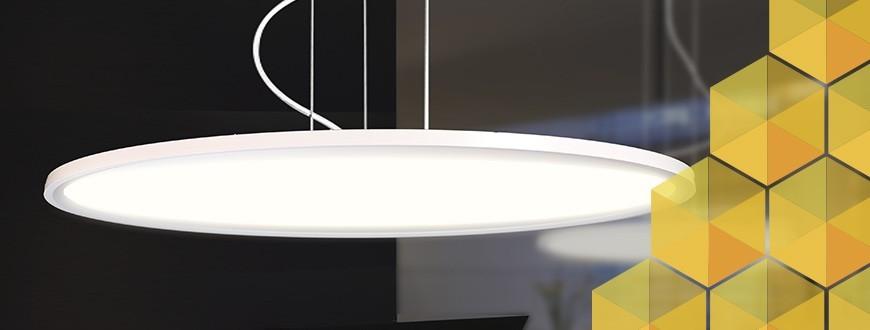 Diseño minimalista - Las lámparas colgantes LED del futuro