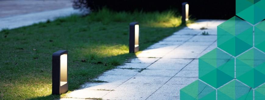 Bornes - Éclairage extérieur | Sulion