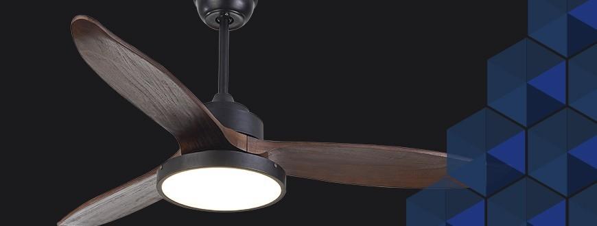 Ventilateurs de plafond - Ventilateurs avec et sans éclairage | Sulion