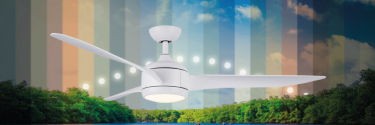 SULION launches new ceiling fans with color temperature change