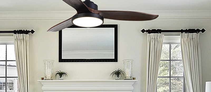 A ceiling fan can reduce air conditioning costs by up to 50%